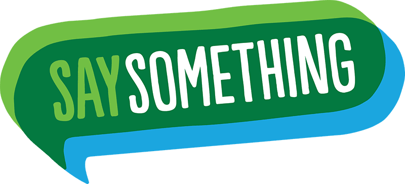 Say Something Program Logo